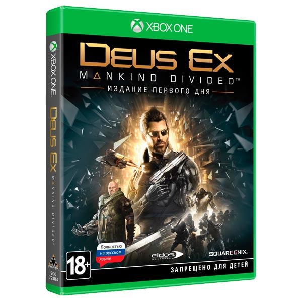 Диск для Xbox ONE Deus Ex: Mankind Divided