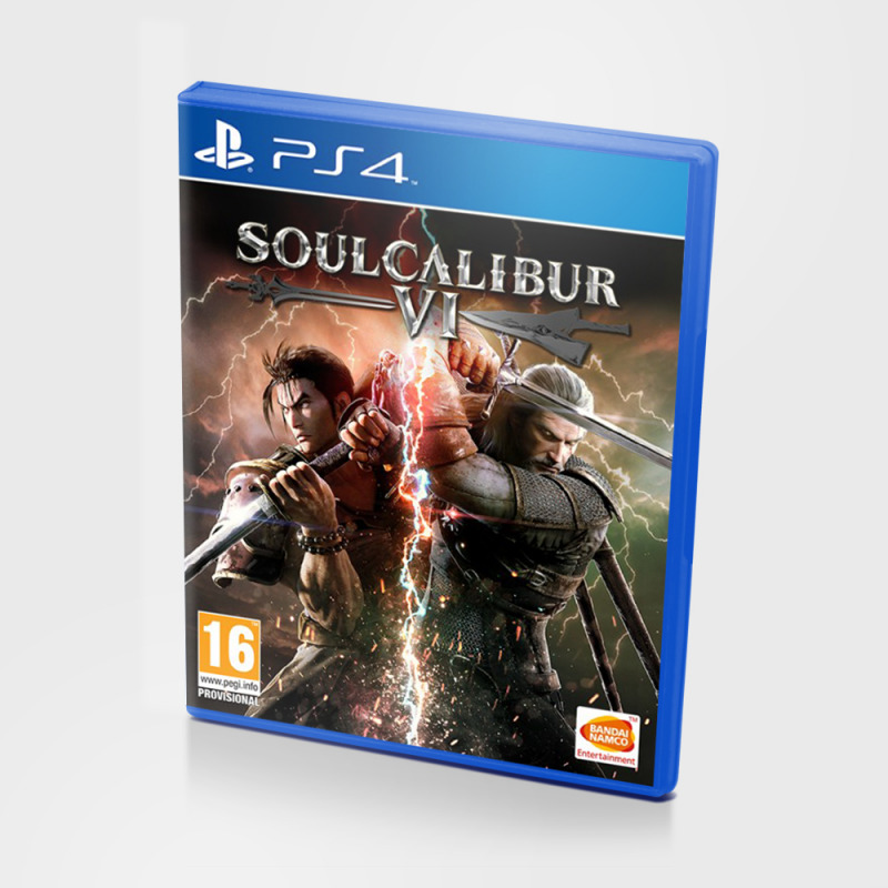 Диск для PS 4 Soulcalibur VI