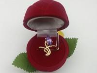Кольцо с камнем Золото 585 (14K) вес 3.10 г