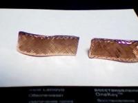 Пара серег Золото 585 (14K) вес 1.99 г