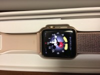 часы Apple watch series 3,два ремня,б/у,п/ц, коробка