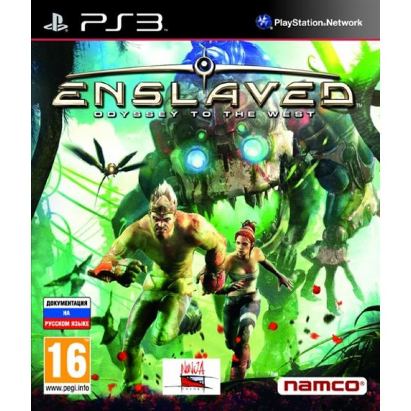 Диск для PS3 Enslaved: Odyssey to the West
