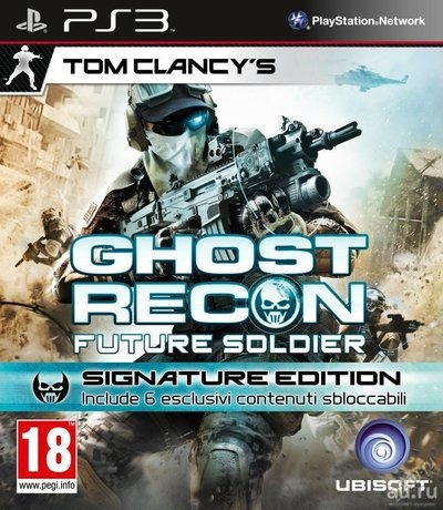Диск для Sony PS3 GHOST RECON FUTURE SOLDIER