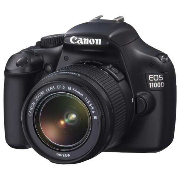 Фотоаппарат Canon EOS 1100D Body