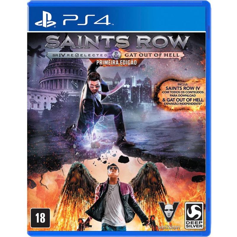 Диск на PS 4 Saints Row