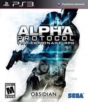 Диск PS3 Alpha Protocol