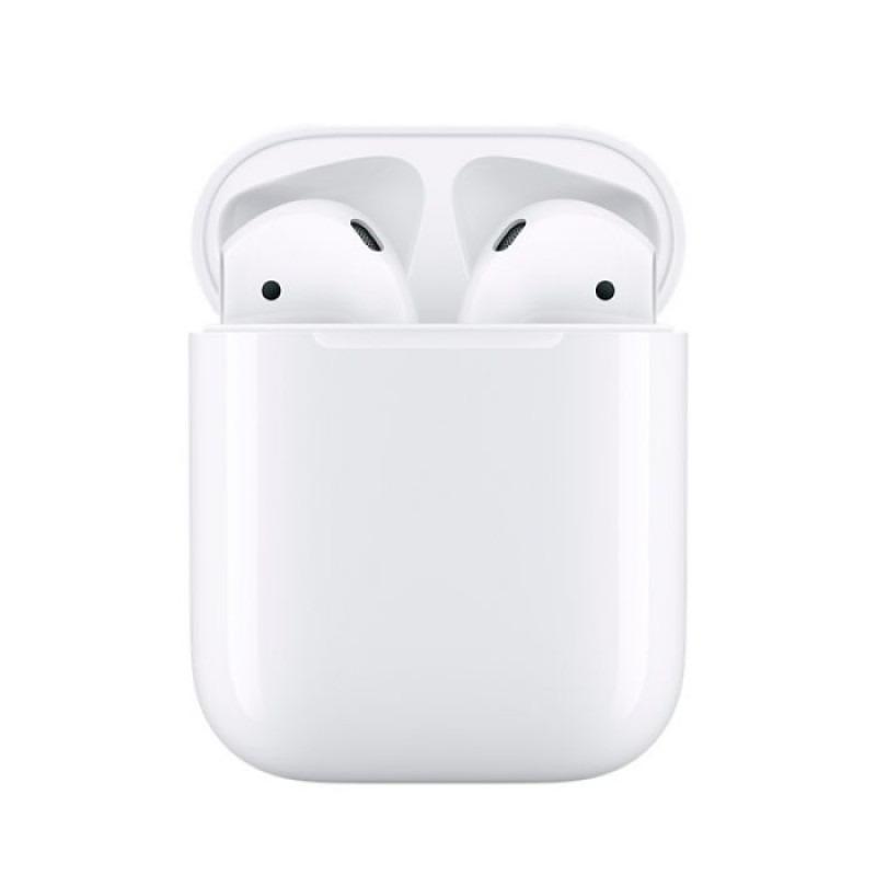 Беспроводные наушники Apple AirPods 2 с зарядным футляром