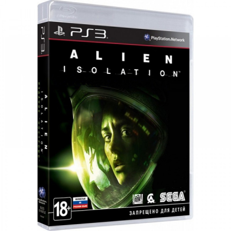 Диск для PS3 Alien Isolation