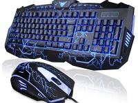 Клавиатура + мышь проводные Орбита V100