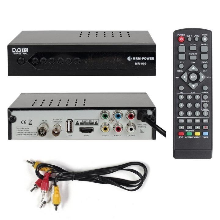 Цифровой ресивер DVB-T5 MRM-POWER MR-009 +HD плеер 1080i
