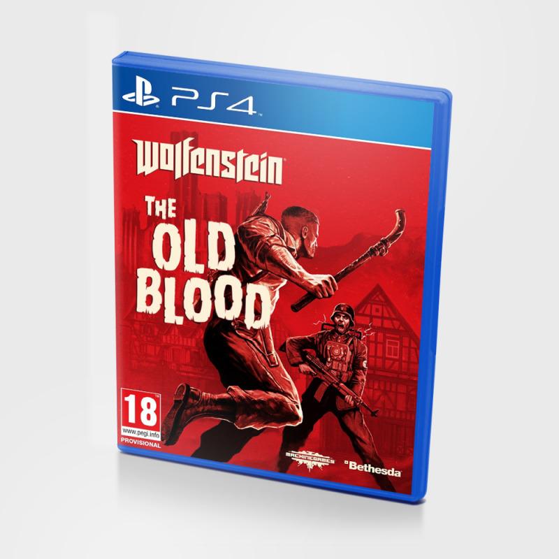Диск для PS 4 Wolfenstein: The Old Blood