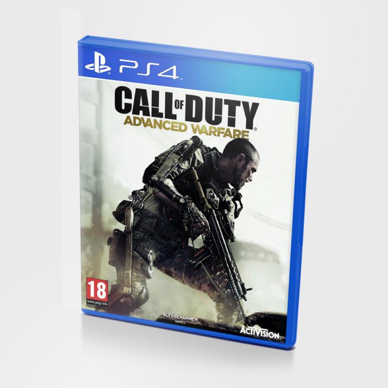 Диск для Ps4 Call of Duty: Advanced Warfare, полностью на русском языке