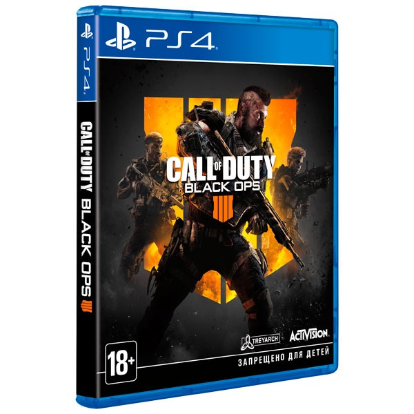Диск PS 4 Call of Duty Black ops