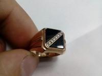 Печатка с камнем Золото 585 (14K) вес 4.33 г