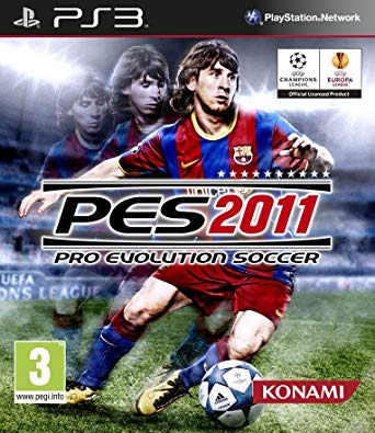 Диск PS3 PES 2011