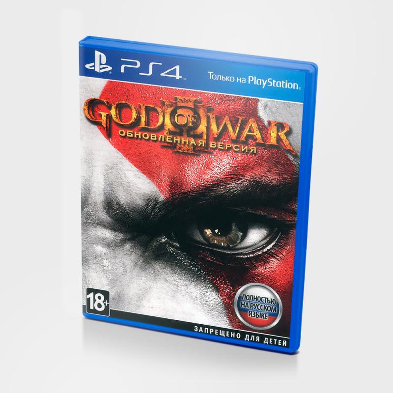 Диск для PlayStation 4 God of War 3 Remastered