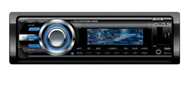 Автомобильная магнитола с CD MP3 Sony CDX-GT747 UI