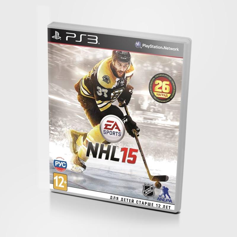 Диск PS3 NHL 15