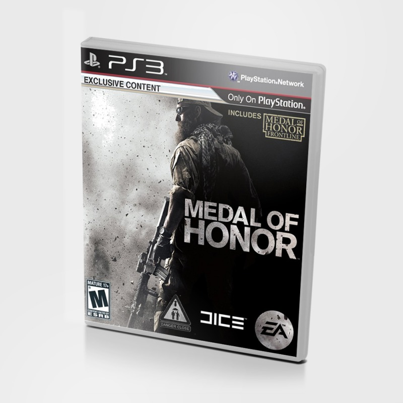 Диск на PS3 Medal of honor