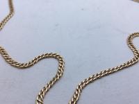 Цепочка плетение плоский бисмарк  Золото 585 (14K) вес 5.50 г