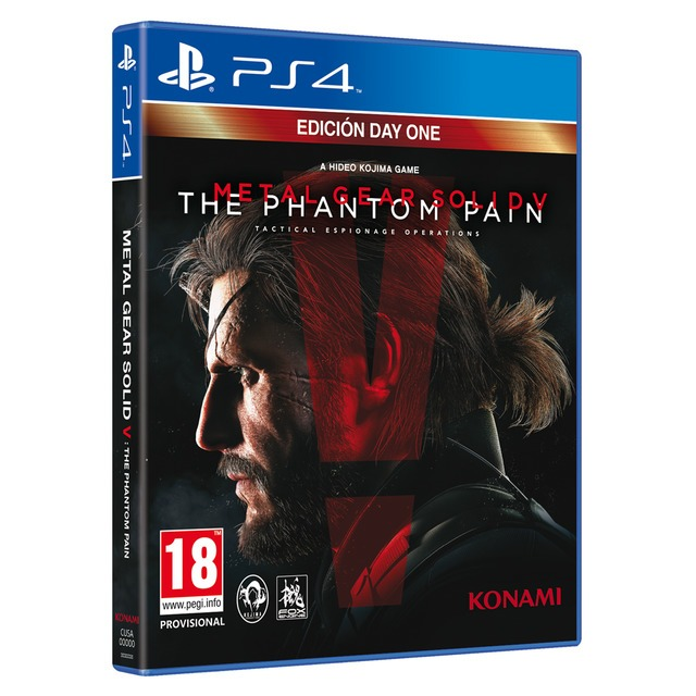 Диск для PS4 METAL GEAR SOLIDV THE PHANTOM PAIN