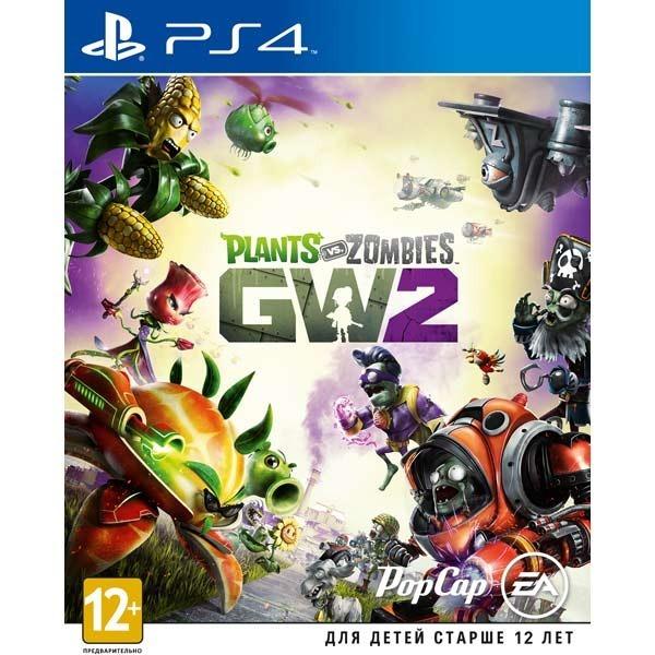 Диск PS4 Plants vs Zombie Garden Warfare 2