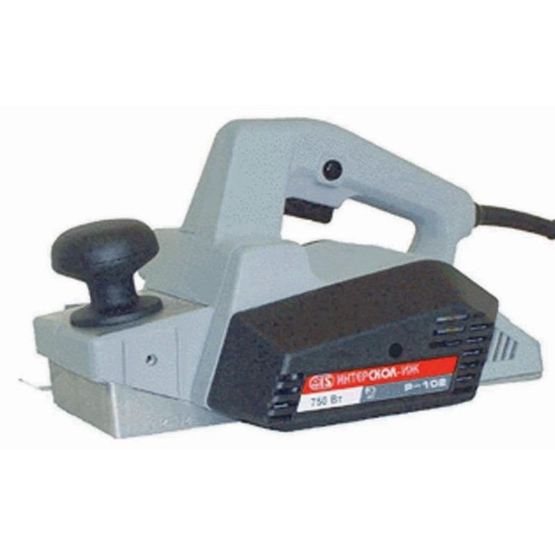 Сетевой электрорубанок Интерскол Р-102 750 Вт