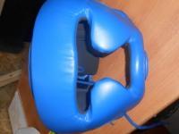Шлем боксерский (синий)