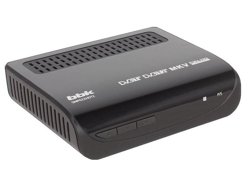 Цифровая ТВ-приставка BBK SMP022HDT2