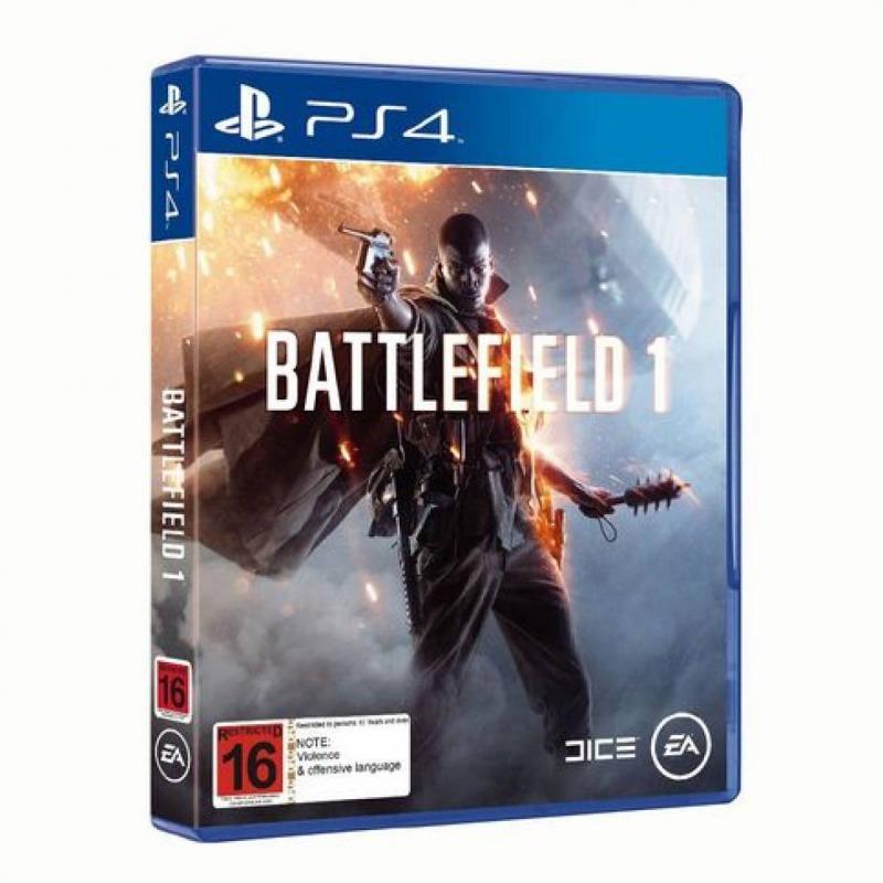 Диск на PS4 Battlefield 1