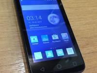 Смартфон Alcatel pixi 3(4) 4013D, б/у, п/ц, без комплекта