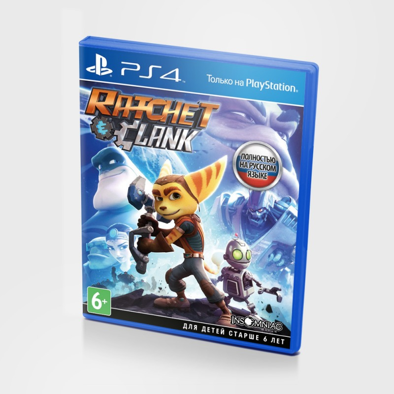 Диск PS-4 Ratcher Clank