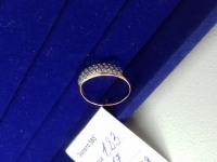 Кольцо с камнями  Золото 585 (14K) вес 1.83 г