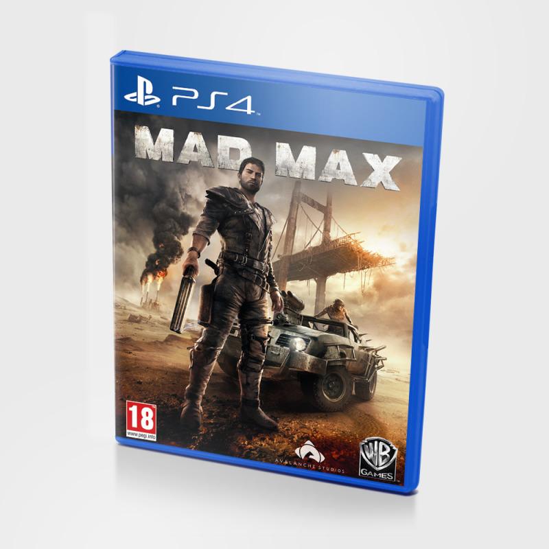 Диск для PS4 Mad Max