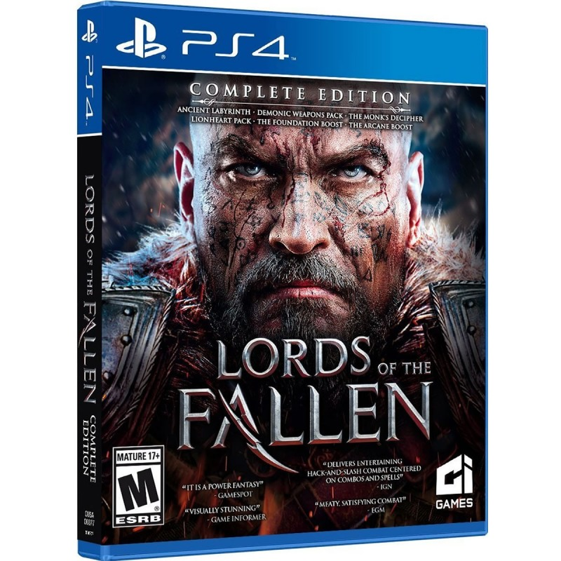 PS4 игра City Interactive Lords of the Fallen