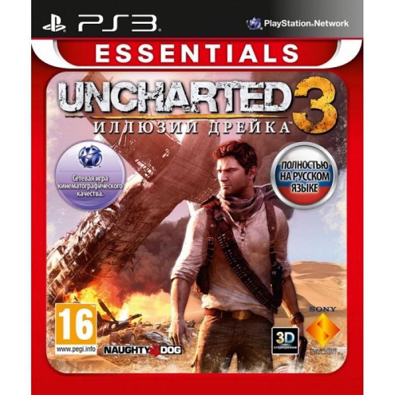 Диск на PS3 Uncharted 3 Иллюзия дрейка