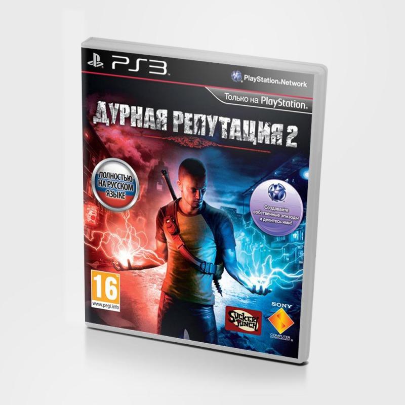 Диск на PS3 Дурная Репутация 2