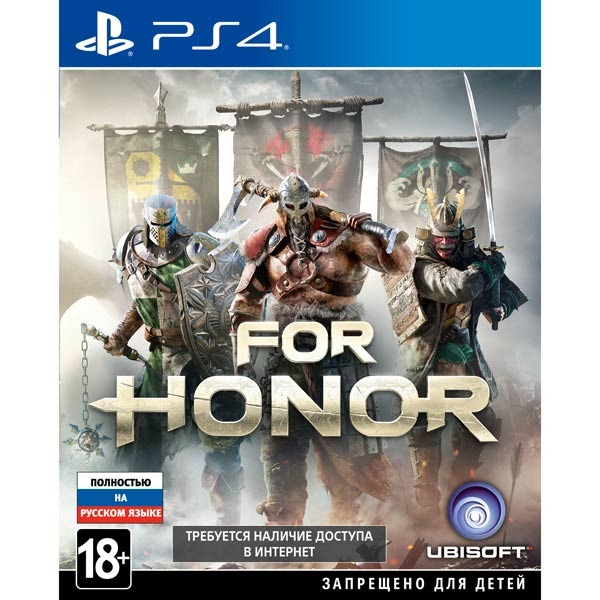 Диск PS4 Ubisoft For Honor