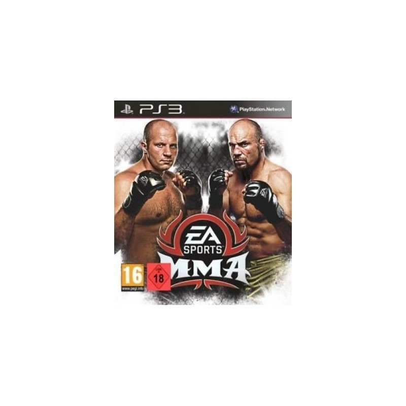 Диск на PS3 EA Sports MMA