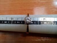 Кольцо Золото 585 (14K) вес 2.42 г