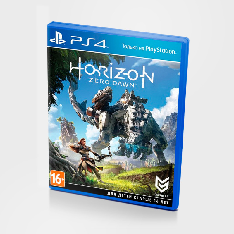 Диск на PS4 Horizon