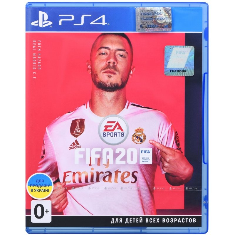 Диск PS4 FIFA 20