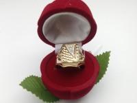 Печатка с камнями  Золото 585 (14K) вес 5.58 г