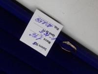 Кольцо с камнями  Золото 585 (14K) вес 1.76 г