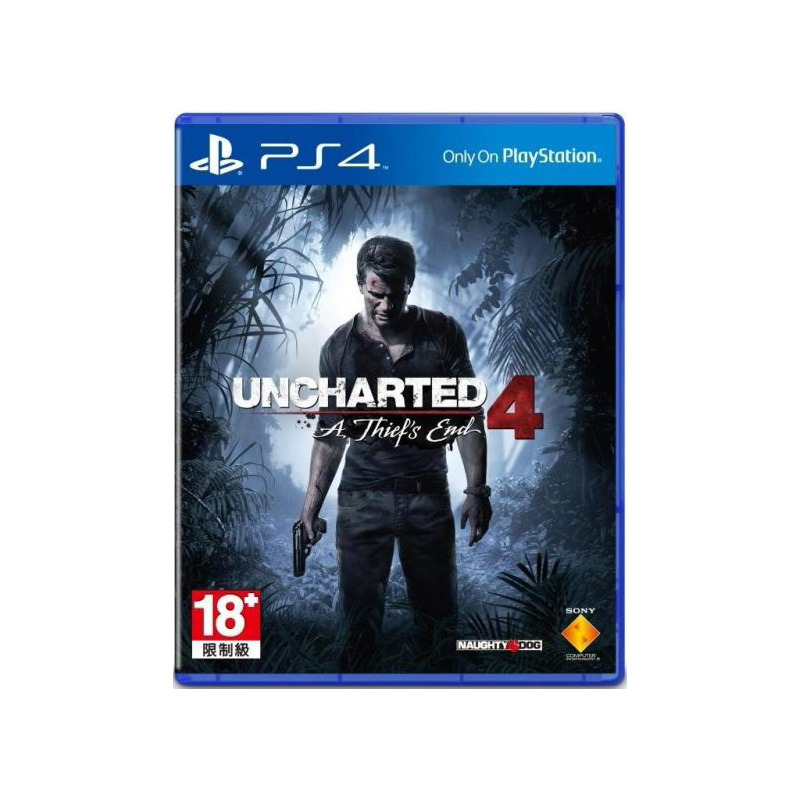 Диск для PS4 Uncharted 4: Путь вора
