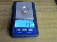 Кольцо с 3 синт вст Золото 585 (14K) вес 1.90 г