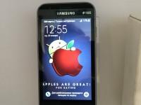 Телефон SAMSULG Galaxy J1коробка зарядка