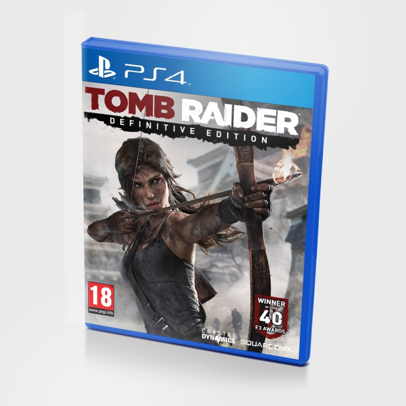 Диск PS4 Tomb Raider