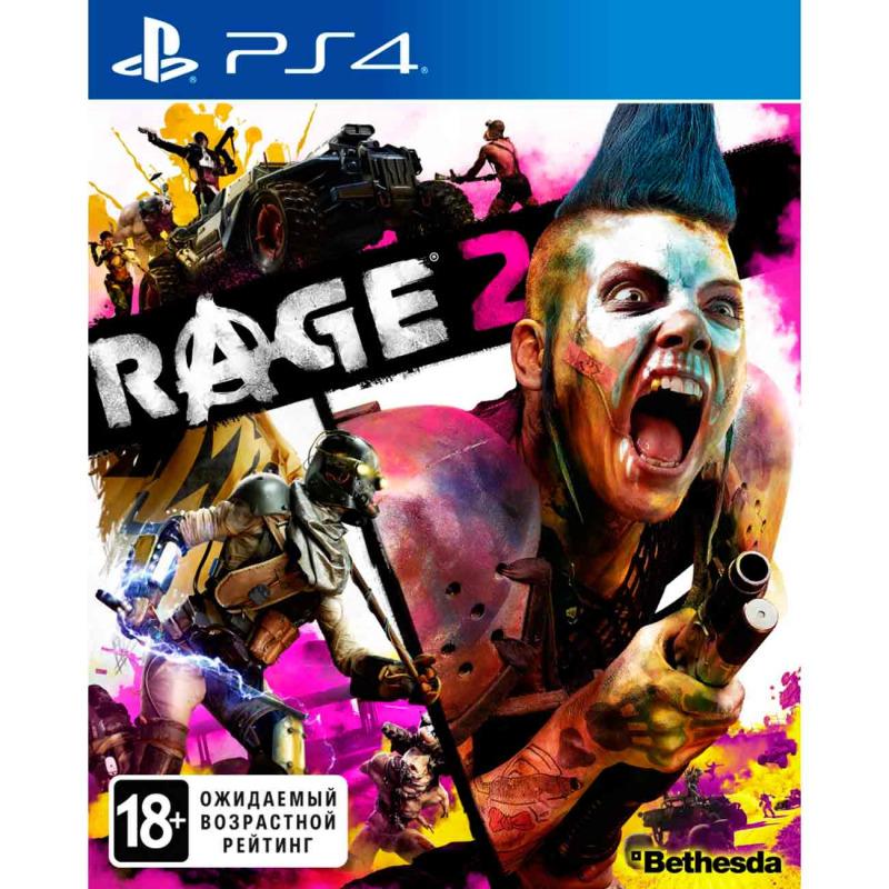 Диск PS4 RAGE 2