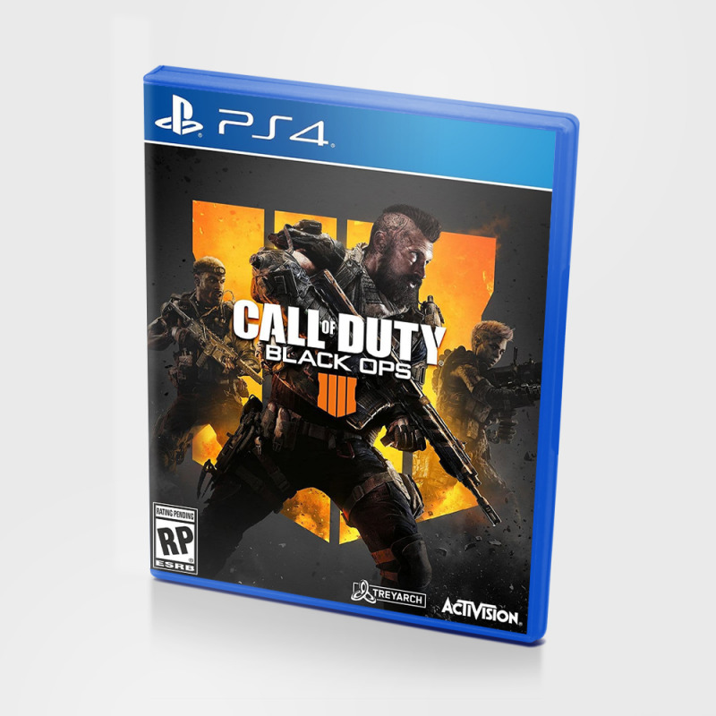 Диск для PS4 Call of Duty: Black Ops 4